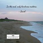 Outer Banks Sunset Kindness Jewel10×10