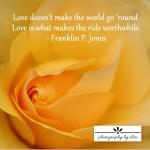 Yellow Rose Love10×10